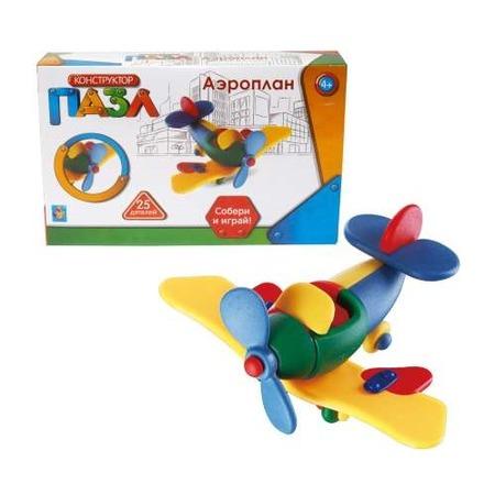 Купить Конструктор игрушечный 1 Toy «Аэроплан»