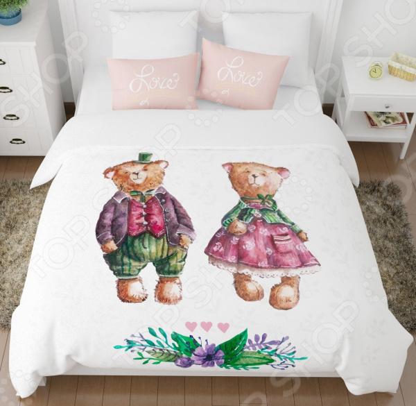 Комплект постельного белья Сирень «Дуэт» комплект постельного белья сирень дуэт