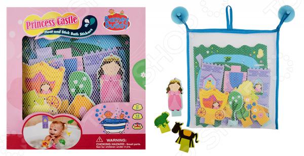 Набор фигурок-стикеров для ванны Barney&Buddy «Замок принцессы» игровой набор маленькая кукла принцесса и ее друг в ассорт