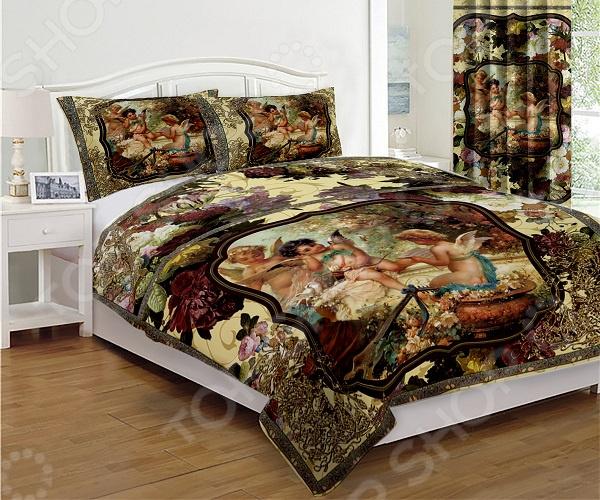 Комплект постельного белья «Блаженство роскоши». 1,5-спальный. Цвет в ассортименте