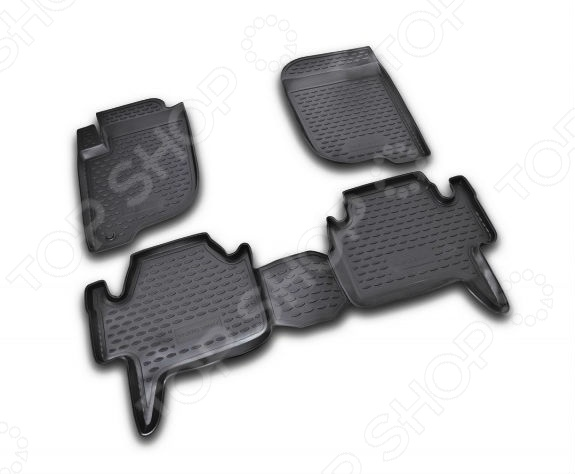Комплект ковриков в салон автомобиля Novline-Autofamily Mitsubishi Pajero Sport 2008-2012 мыльницы kassatex мыльница