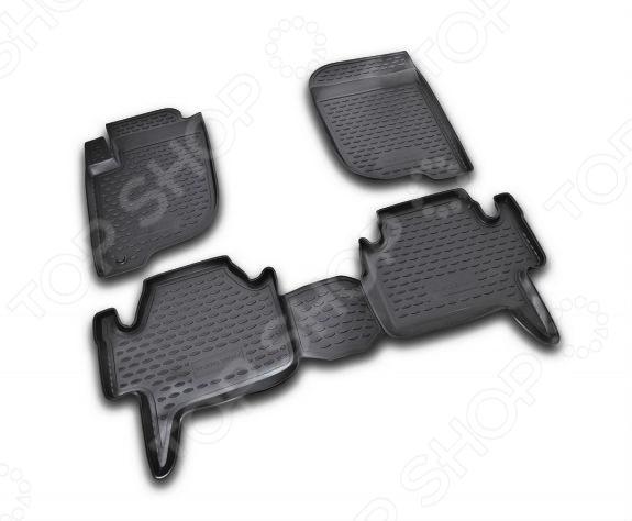 Комплект ковриков в салон автомобиля Novline-Autofamily Mitsubishi Pajero Sport 2008-2012
