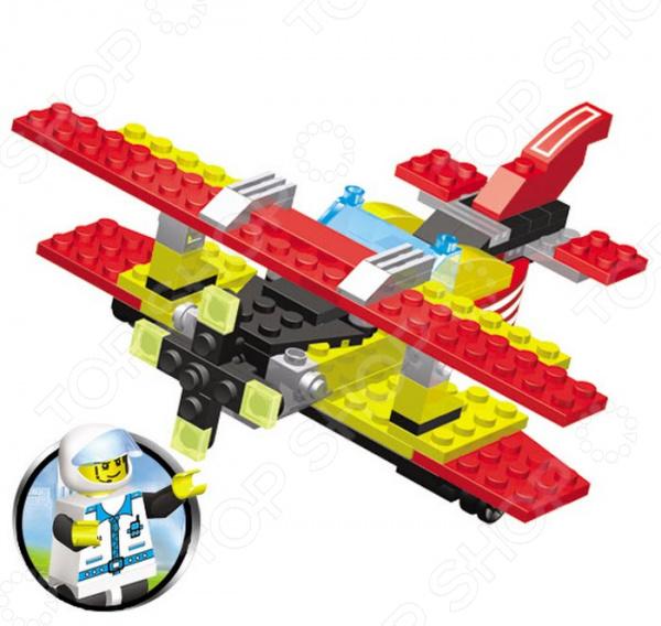 Конструктор игрушечный SuperBlock Авиация. Самолет занимательная и развивающая игрушка. Помимо того, что ребенок весело будет проводить свободное время, он сможет развить некоторые свои навыки и узнать много нового. Благодаря конструктору, ваш малыш познакомиться с основами построения различных моделей. Сама конструкция выполнена из экологически чистого пластика и абсолютно безопасна для ребенка. Конструктор собирается в модель самолета из 134 деталей. При желании, вы можете помочь ребенку на начальном этапе знакомства с методом сборки. Также, в наборе есть подробная инструкция, с помощью которой дети легко смогут собрать воздушное судно. Стоит также обратить внимание на то, что детали набора совместимы с конструкторами других марок, в том числе и со всем известным Lego. Приобретая конструктор вы приобретаете целый мир для развития фантазии и мелкой моторики! Продукт рекомендуется для игры детям от шести лет и старше. В наборе содержится очень много мелких деталей, которые дети помладше могут проглотить. Ваш ребенок, мальчик или девочка, с энтузиазмом примут нового друга в свои игры.