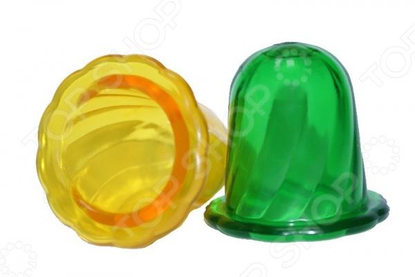 Альпина банки вакуумные полимерно-стеклянные для шейного массажа 2шт