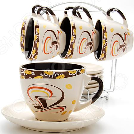 Чайный сервиз Loraine LR- 23539 чайный набор loraine lr 24697 0 23 л керамика розовый