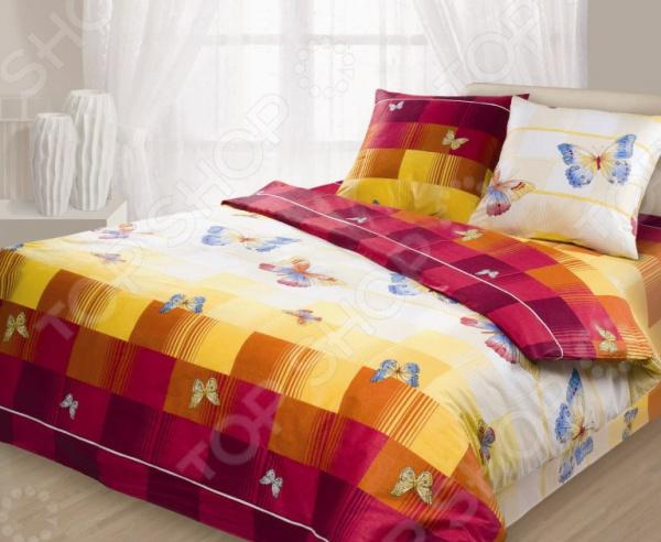 Комплект постельного белья Гармония «Махаон». 1,5-спальный