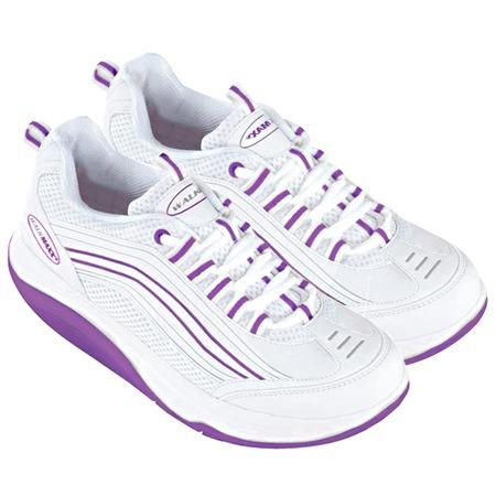 Купить Кроссовки Walkmaxx женские. Цвет: бело-фиолетовый