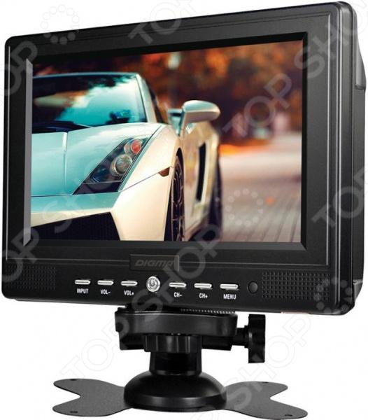 Телевизор автомобильный Digma DCL-720 автомобильный телевизор digma dcl 720 7 черный