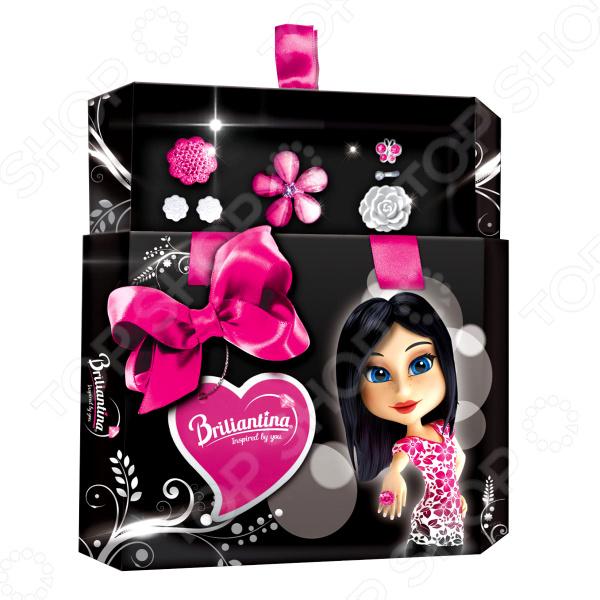 Набор украшений для девочки Briliantina Black «Шкатулка» шкатулка для украшений toto umbra шкатулка для украшений toto
