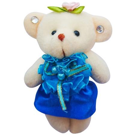 Купить Набор мягких игрушек Color Kit «Мишка». Цвет: синий