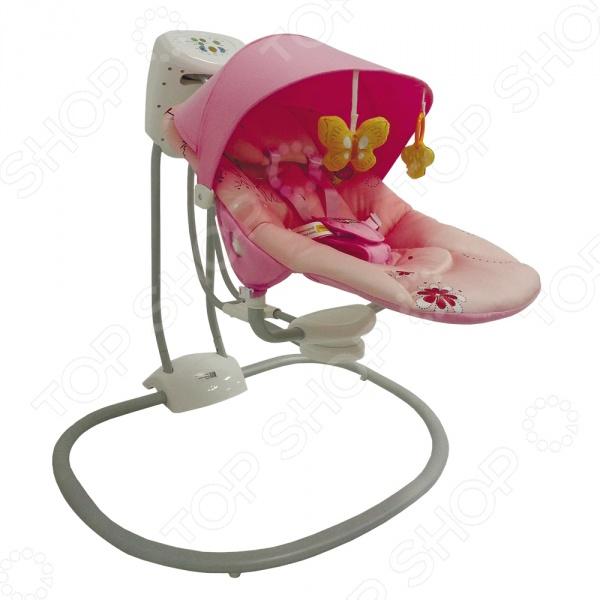 Babyhit Качели детские электрические Baby Hit Full Comfort. Цвет: розовый