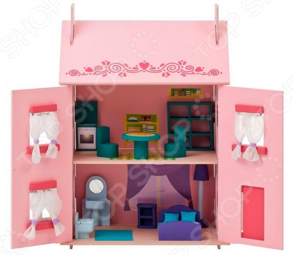 Кукольный дом с аксессуарами PAREMO «Милана»