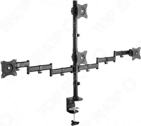 Фото - Кронштейн для четырех мониторов Arm Media LCD-T16 кронштейн