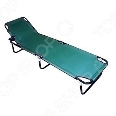 Раскладушка Irit IRG-530 отличная замена обычной кровати. Ее можно использовать как на даче, так и дома как дополнительное спальное место для внезапно нагрянувших гостей. Модель снабжена надежным каркасом и обтянута высокопрочным полиэстером. Максимально допустимая нагрузка на раскладушку составляет 100 кг. Наклон спинки можно регулировать.