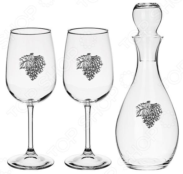 Набор для крепких напитков: штоф и бокалы Acampora 307-019