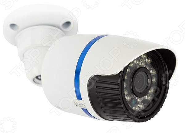 IP-камера уличная цилиндрическая Rexant 45-0256 камера видеонаблюдения купольная уличная rexant 45 0134