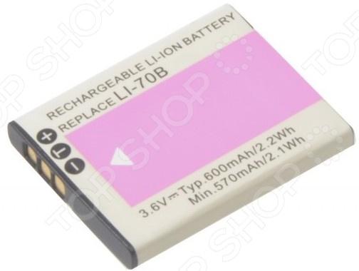 Аккумулятор для камеры Pitatel SEB-PV603 для Olympus FE-4020/FE-4040/X-940, 600mAh