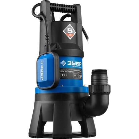 Купить Насос погружной дренажный для грязной воды Зубр «Профессионал» НПГ-Т3-1300