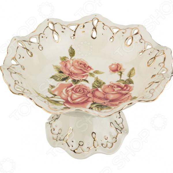 Фруктовница Lefard «Корейская роза» 126-546 lefard фруктовница kenya 20х22х35 см