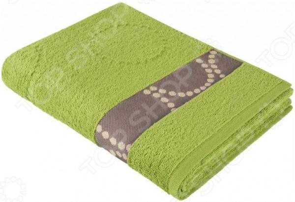 Полотенце махровое Aquarelle «Таллин вид 2». Цвет: травяной полотенце махровое aquarelle таллин 1 цвет ваниль 50 х 90 см 707762