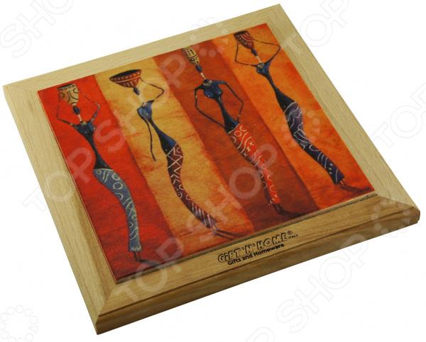 Панно-подставка под горячее Gift'n'home «Африканские мотивы»