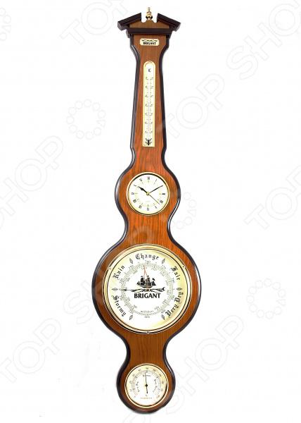 Часы-метеостанция настенные Brigant 28127