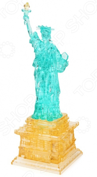 Пазл 3D Crystal Puzzle «Статуя Свободы» 3d пазл creative studio достопримечательности статуя свободы p031a
