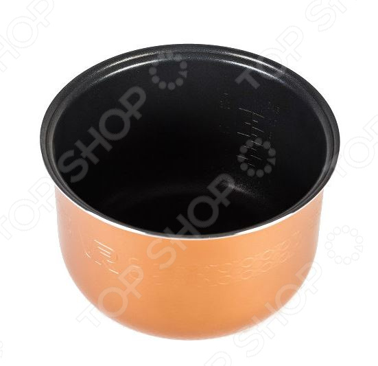 Чаша для мультиварки универсальная ELGREEN. Цвет: черный. Уцененный товар