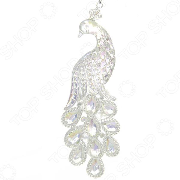 Елочное украшение со светодиодами Елочное украшение Crystal Deco «Павлин» 1707752