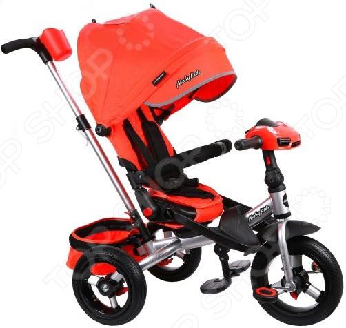 Велосипед трехколесный Moby Kids New Leader 360° 12x10 AIR Car