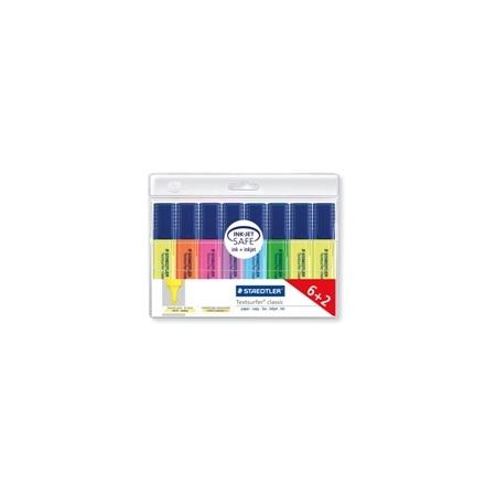Купить Набор маркеров-текстовыделителей Staedtler 364AWP8