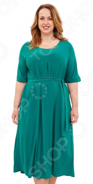 Платье Лауме-Лайн «Афродита». Цвет: зеленый