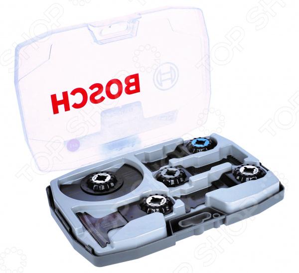 Набор оснастки для многофункционального инструмента Bosch Best For Cut 2608664131 погружное пильное полотно bosch bim aiz 32 apb wood and metal 2 608 661 644