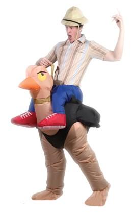 Костюм надувной Просто-Полезно «Наездник на страусе»