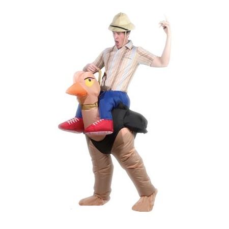 Купить Костюм надувной Просто-Полезно «Наездник на страусе»