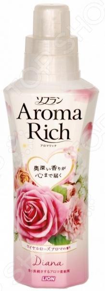 Кондиционер для белья Lion Aroma Rich Diana 263180 ополаскиватель lion soflan aroma rich maria с натур аром маслами 480 мл