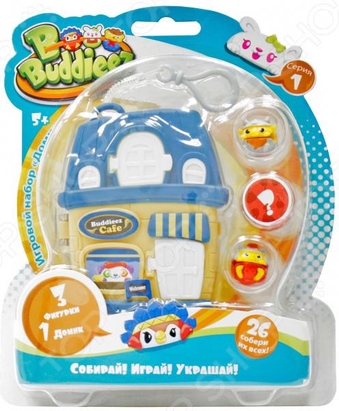 Игровой набор с фигурками 1 Toy Bbuddieez «Домик с подвеской» Т59386