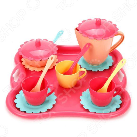 Чайный набор игрушечный Mary Poppins «Карамель» стойка кормушка для собак росмаркет металл 1 75 л