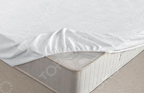 Простыня водонепроницаемая на резинке Ecotex AquaStop Flannel