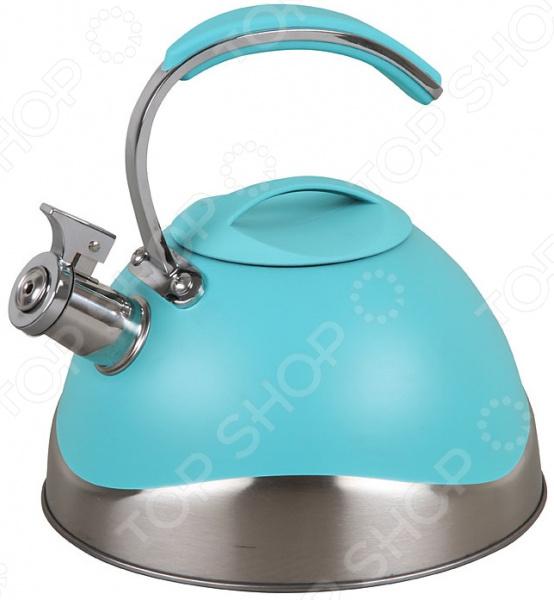 Фото - Чайник со свистком Pomi d'Oro PSS-650019 чайник со свистком pomi d oro pss 650019