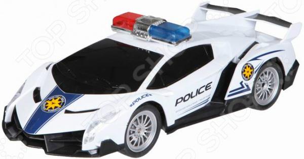 Машинка на радиоуправлении Yako «Полиция» 1724290
