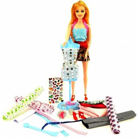 Купить Набор для изготовления кукольного платья Bradex «Я дизайнер»