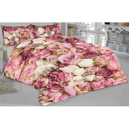 Купить Комплект постельного белья ТамиТекс «Розовые пионы»