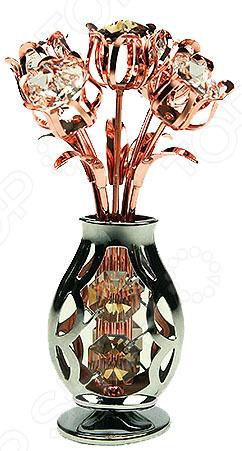 Crystocraft «Ваза с цветами» с кристаллами Swarovski 67708