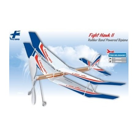 Купить Резиномоторная модель планера ZT Model «Боевой ястреб II»
