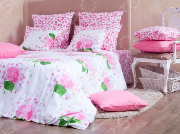Комплект постельного белья MIRAROSSI Virginia pink. 2-спальный