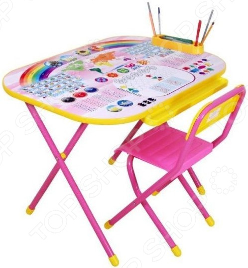 Набор складной детской мебели Дэми «Дошколенок. Блокнот» набор складной мебели 888