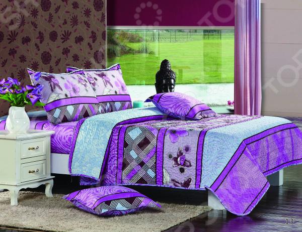 Комплект постельного белья Бояртекс «Сиреневый рай». 1,5-спальный