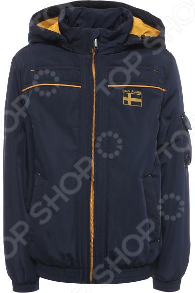 Куртка детская Finn Flare Kids KB17-81009J. Цвет: темно-синий