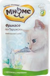 Корм влажный для кошек Мнямс «Фрикасе по-Парижски» с мясом страуса